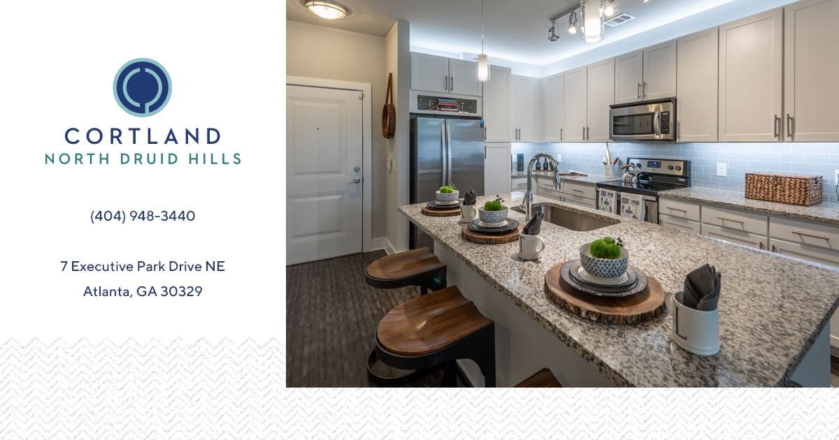 Apartments for rent in Atlanta, GA | Cortland North Druid Hills