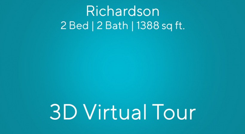 """This virtual apartment tour of our 2 bedroom apartment in Charlotte, NC shows you the """"Richardson"""" floor plan"""