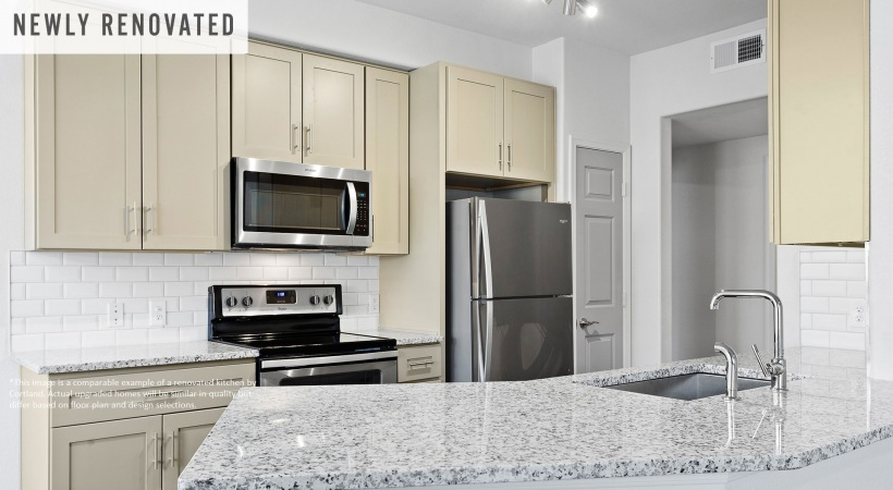 Newly Renovated Kitchen with Granite Countertops*