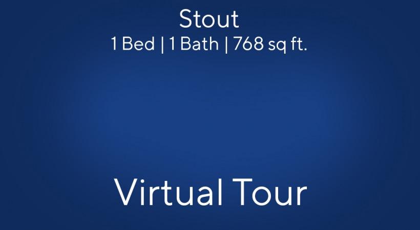 A virtual apartment tour of