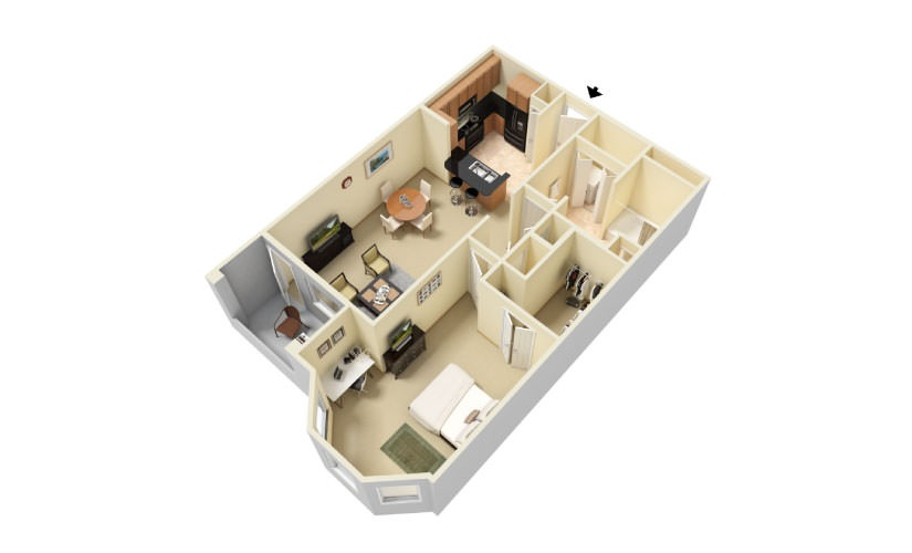The Bayside Floorplan