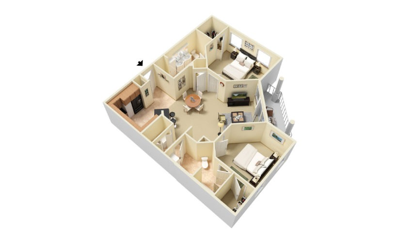 The Creekside Floorplan