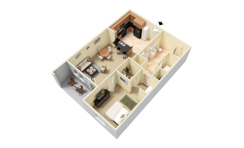 The Sawgrass Floorplan