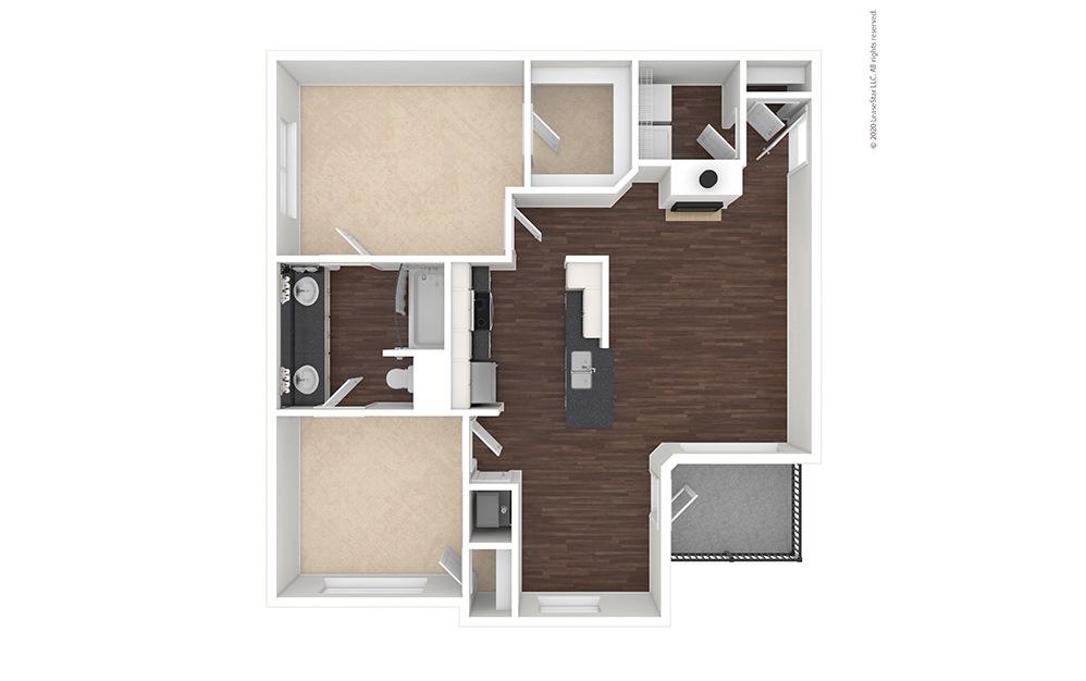 Vacant Virginia Floor Plan