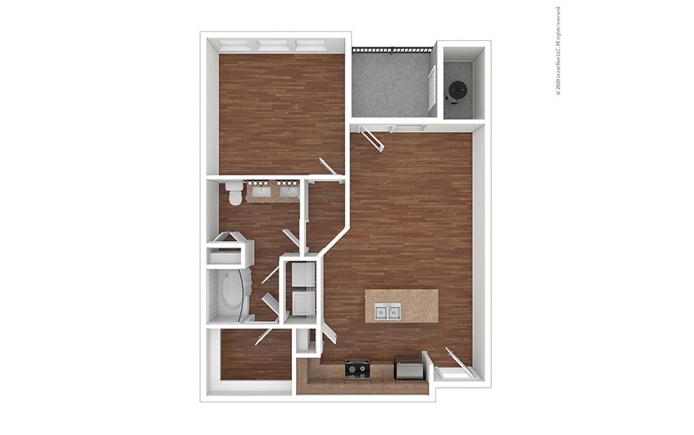 A1 Floor Plan Vacant