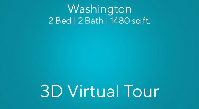 Washington Virtual Tour | 2 Bed | 2 Bath