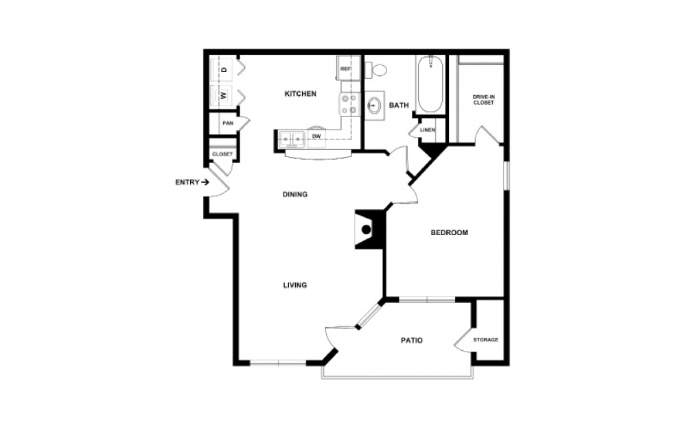 Whistler 1 bedroom 1 bath 809 square feet